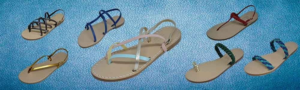 Capresi sandals made by Masters Craftsmen in Leather